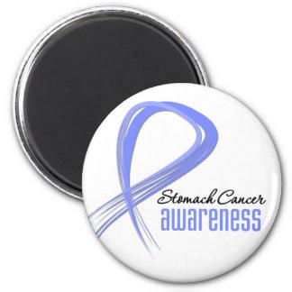 Stomach Cancer Awareness Grunge Magnet