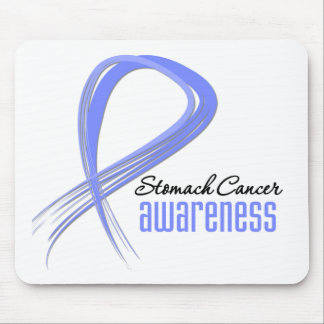 Stomach Cancer Awareness Grunge Mouse Mats