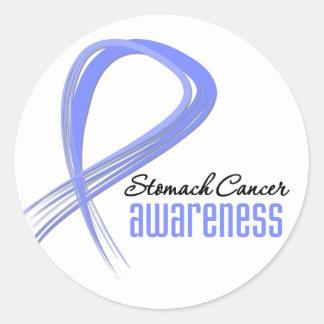 Stomach Cancer Awareness Grunge Sticker
