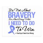 Stomach Cancer Battle Post Card