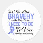 Stomach Cancer Battle Stickers