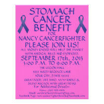 Stomach Cancer Benefit Flyer