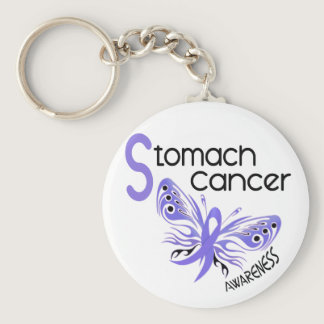 Stomach Cancer BUTTERFLY 3.1 Keychain