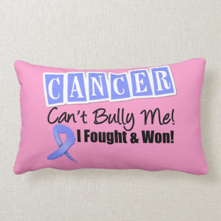Stomach Cancer Can't Bully Me...I Fought I Won Throw Pillows