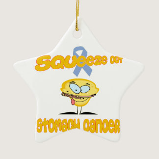 Stomach Cancer Ceramic Ornament