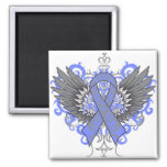 Stomach Cancer Cool Wings Refrigerator Magnets