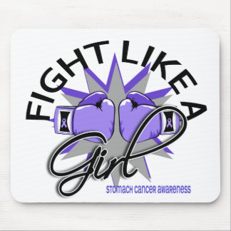 Stomach Cancer Fight Like A Girl 12.3 Mousepads