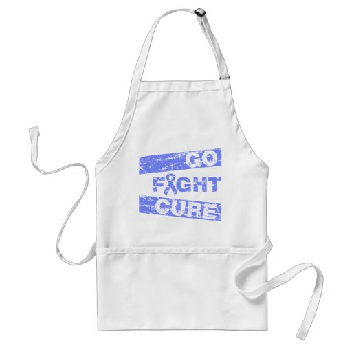 Stomach Cancer Go Fight Cure Aprons
