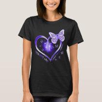 stomach cancer heart cross gift warrior T-Shirt