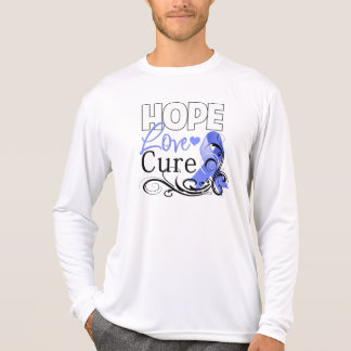 Stomach Cancer Hope Love Cure T Shirts