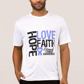 Stomach Cancer Hope Love Faith Tee Shirt