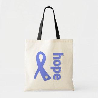 Stomach Cancer Hope Ribbon Bag