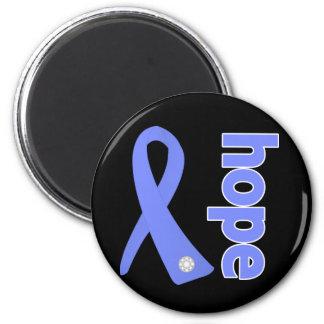 Stomach Cancer Hope Ribbon Fridge Magnet