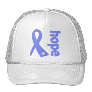 Stomach Cancer Hope Ribbon Mesh Hat
