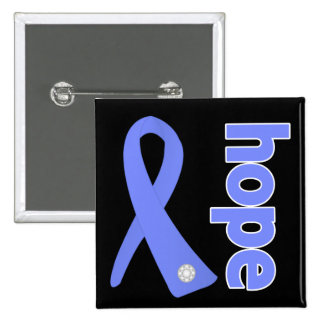 Stomach Cancer Hope Ribbon Pinback Button