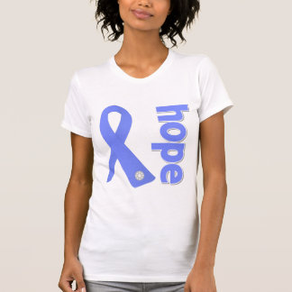 Stomach Cancer Hope Ribbon Tshirts