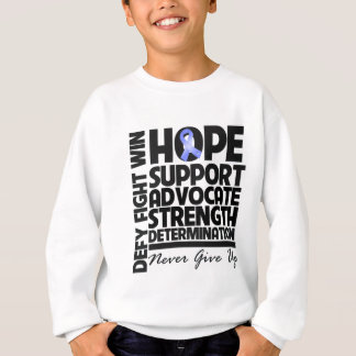 Stomach Cancer Hope Support Advocate Sweatshirt