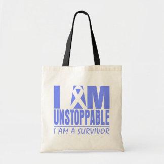Stomach Cancer I Am Unstoppable Bag