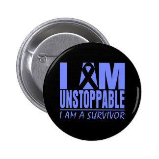 Stomach Cancer I Am Unstoppable Buttons