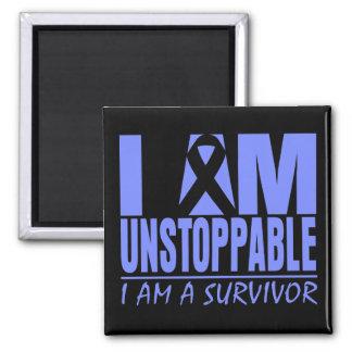Stomach Cancer I Am Unstoppable Fridge Magnet