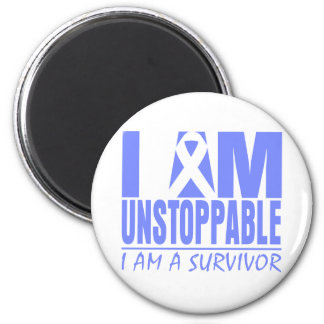 Stomach Cancer I Am Unstoppable Refrigerator Magnet