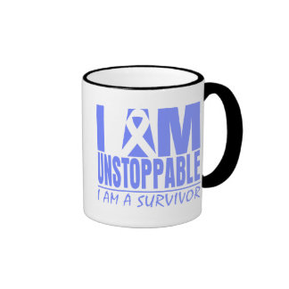 Stomach Cancer I Am Unstoppable Mugs