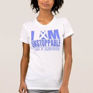 Stomach Cancer I Am Unstoppable Tee Shirts