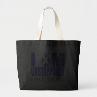 Stomach Cancer I Am Unstoppable Tote Bag