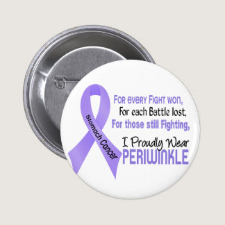 Stomach Cancer I Proudly Wear Periwinkle 1 Button