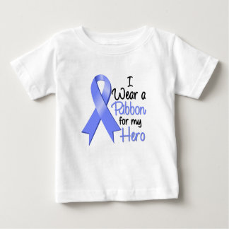 Stomach Cancer I Wear a Ribbon For My Hero T-shirt