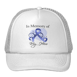Stomach Cancer In Memory of My Hero Hats