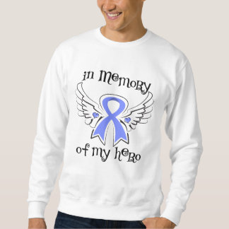 Stomach Cancer In Memory of My Hero Pullover Sweatshirts