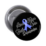 Stomach Cancer Love Hope Determination Pins