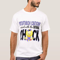 Stomach Cancer Messed With The Wrong Chick T-Shirt