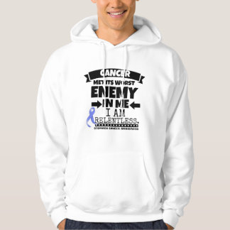Stomach Cancer Met Its Worst Enemy in Me Hooded Pullover