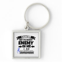 Stomach Cancer Met Its Worst Enemy in Me Keychain