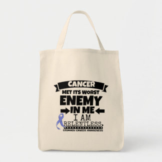 Stomach Cancer Met Its Worst Enemy in Me Tote Bag