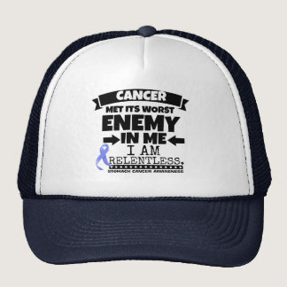 Stomach Cancer Met Its Worst Enemy in Me Trucker Hat