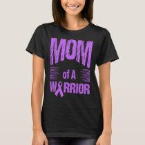 Stomach Cancer Mom Of Warrior Autism Awareness T-Shirt