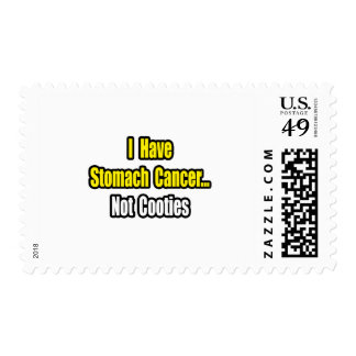 Stomach Cancer...Not Cooties Stamps