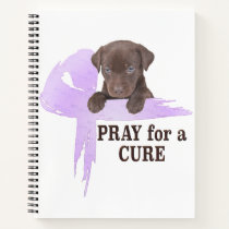Stomach Cancer | Periwinkle Cancer Ribbon Notebook