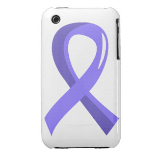 Stomach Cancer Periwinkle Ribbon 3 iPhone 3 Covers