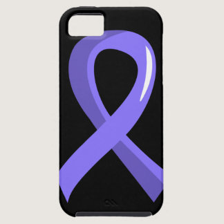 Stomach Cancer Periwinkle Ribbon 3 iPhone SE/5/5s Case