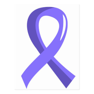 Stomach Cancer Periwinkle Ribbon 3 Postcard