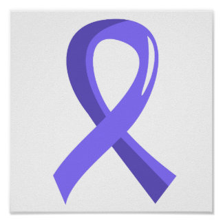 Stomach Cancer Periwinkle Ribbon 3 Posters