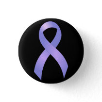 Stomach Cancer Periwinkle Ribbon Button