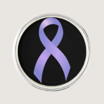 Stomach Cancer Periwinkle Ribbon Pin