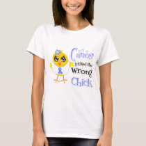 Stomach Cancer Picked The Wrong Chick T-Shirt