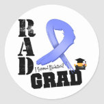 Stomach Cancer Radiation Therapy RAD Grad Stickers