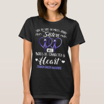 stomach cancer sisters connected by heart T-Shirt